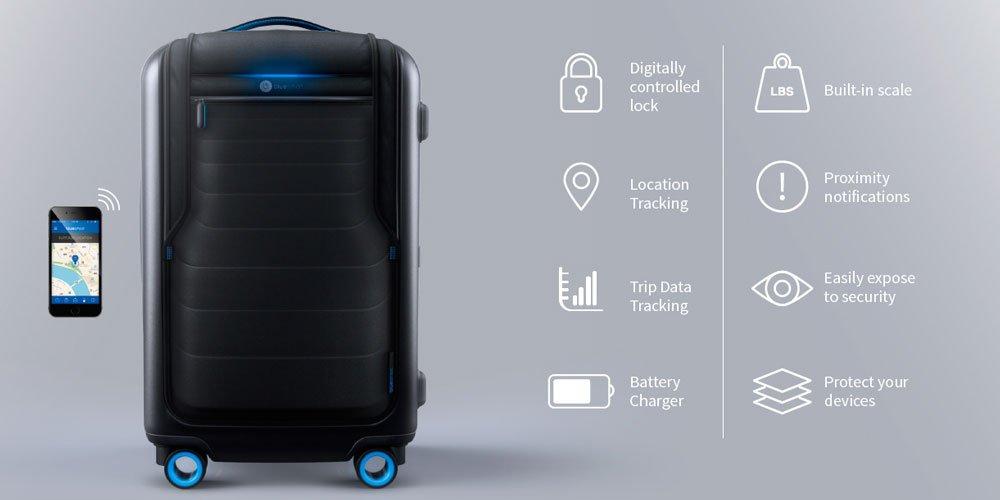 Digitaler Koffer Blue Smart