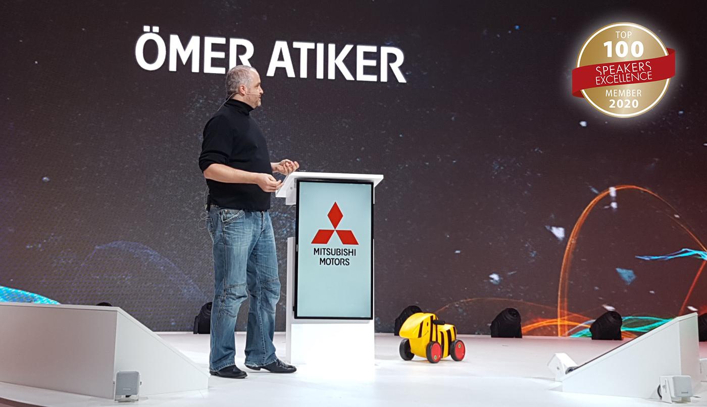 Keynote Speaker Ömer Atiker Top 100