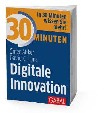 Cover-Ansicht des Taschenbuches 30 Minuten Digitale Innovation